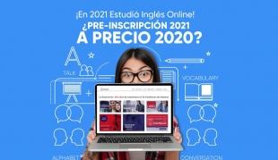 ¡En 2021 Estudiá Inglés Online!